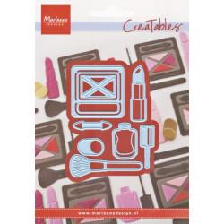 Vyřezáv.šablony - Makeup Set (MD)