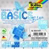 Origami papírky 10x10cm Basic modrý