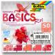 Origami papírky 10x10cm Basic červený