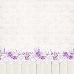 My sweet Provence, vzor 02 - 30,5x30,5 scrapbook (LC)