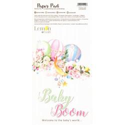 Sada papírů 15,24x30,5cm Baby Boom (LC)