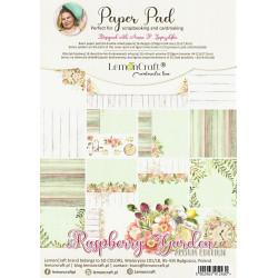 Sada papírů A4 Raspberry Garden (LC)
