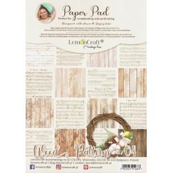 Sada papírů A4 Wood Patterns 04 (LC)