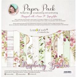 Sada papírů 30,5x30,5 Raspberry Garden + bonus (LC)