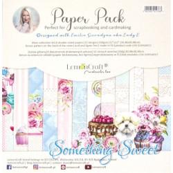 Sada papírů 30,5x30,5 Something Sweet + bonus (LC)