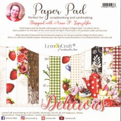 Sada papírů Delicious 15x15 (LC)