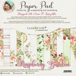 Sada papírů Raspberry Garden 15x15 (LC)
