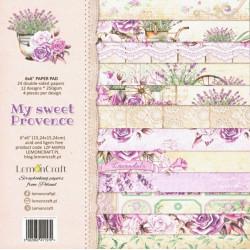 Sada papírů My sweet Provence 15x15 (LC)