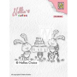Transp.razítko Nellie´s Cuties - Narozeniny (Nellie´s Choice)