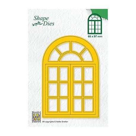 Vyřezávací šablona - otevírací okno (Nellie´s Choice)