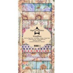 Sada papírů 10x21 Woodflora (PF)