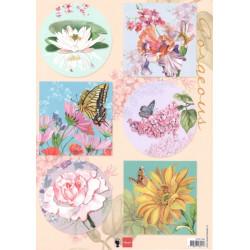 Papír A4 Gorgious Flowers (MD)