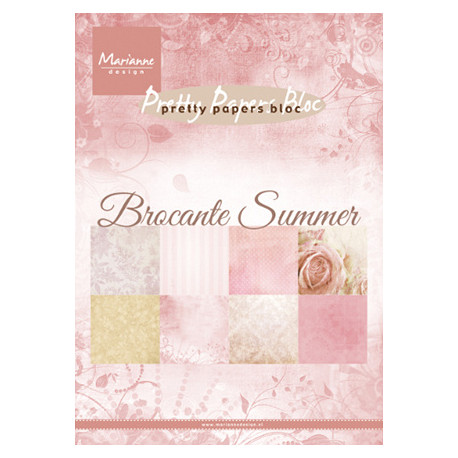 Sada papírů A5 Brocante summer (MD)