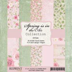Sada papírů 15x15 170g Spring is in the Air (REPRINT)