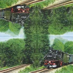 Parní vlak 33x33