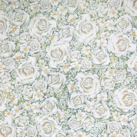 Romantické růže 33x33