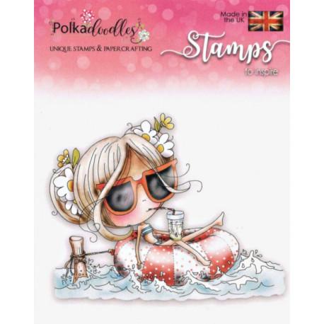 Razítka Polkadodles - Winnie Relax