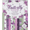 Sada papírů 15x15 Butterfly Kisses (Dovecraft)