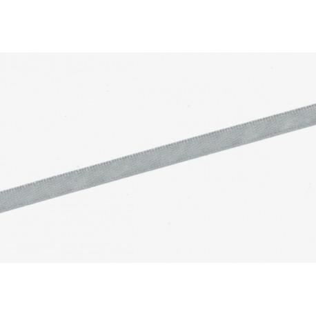 Saténová stuha 6mm - šedá