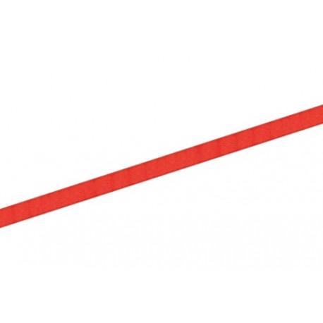 Saténová stuha 6mm - červená