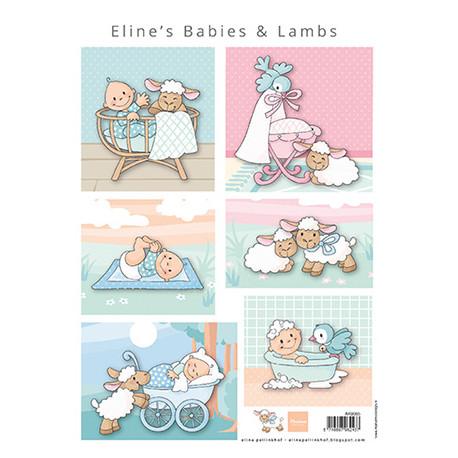 Papír A4 Eline's babies & lambs (MD)