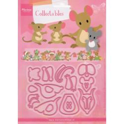 Vyřezávací šablony - myšky (MD)