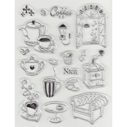 Transp.razítka - Káva o páté