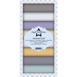 Sada papírů 10x21 Diamond Grid (PF)