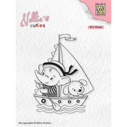 Transp.razítko Nellie´s Cuties - Mladí námořníci (Nellie´s Choice)