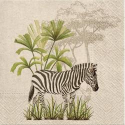 Eko ubrousek Zebra 33x33