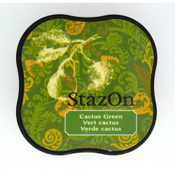 StazOn - Cactus green (razítková barva)
