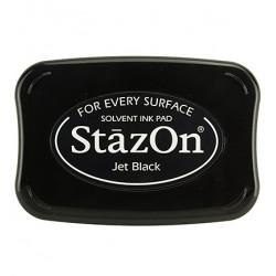 StazOn - černý (razítková barva)