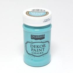 Dekor Paint Chalky 100ml tyrkysová (Pentart)