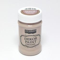 Dekor Paint Chalky 100ml mléčná čokoláda (Pentart)