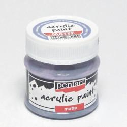 Akrylová barva Pentart 50ml - vintage modrá, matná (20991)