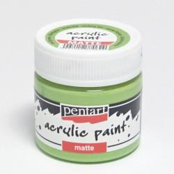 Akrylová barva Pentart 50ml - listová zelená, matná (20994)
