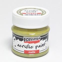 Akrylová barva Pentart 50ml - trnová zelená, matná (20996)