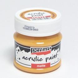Akrylová barva Pentart 50ml - mandarinková, matná (20982)