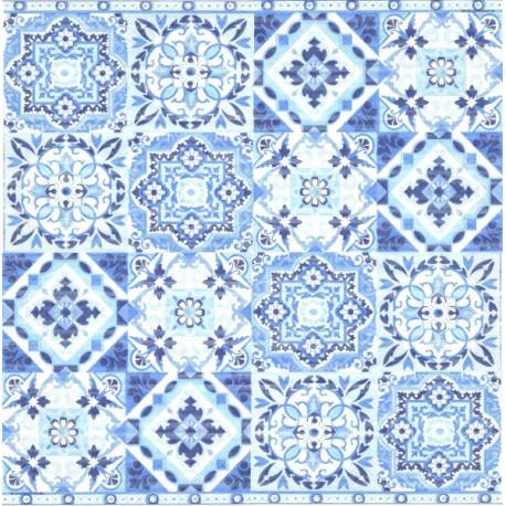 Modré dlaždice 33x33
