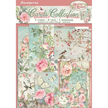 Sada kartiček House Of Roses (SBCARD04)