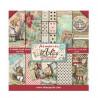 Sada papírů 15,2x15,2 190g Alice in Wonderland