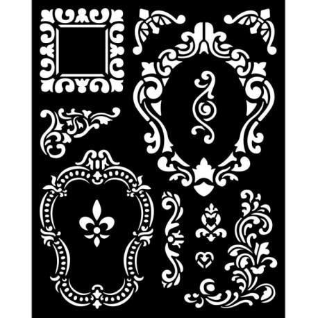 Šablona 3D 20x25 - Alice, rámečky (KSTD092)