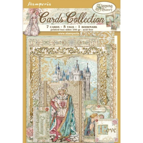 Sada kartiček Sleeping Beauty (SBCARD05)