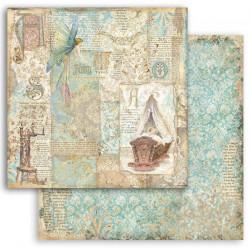 Sleeping Beauty, kolébka 30,5x30,5 scrapbook
