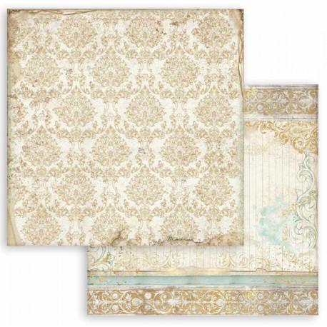 Sleeping Beauty, tapeta 30,5x30,5 scrapbook