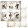 Horses, 6 kartiček 30,5x30,5 scrapbook