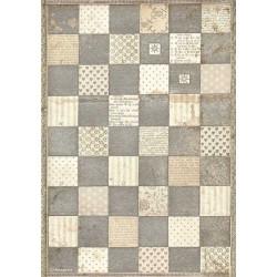 Papír rýžový A4 Alice, šachovnice