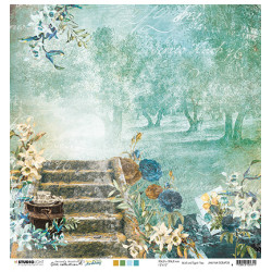 Old stairs & post cards New Awakening nr.38 30,5x30,5cm (SL)