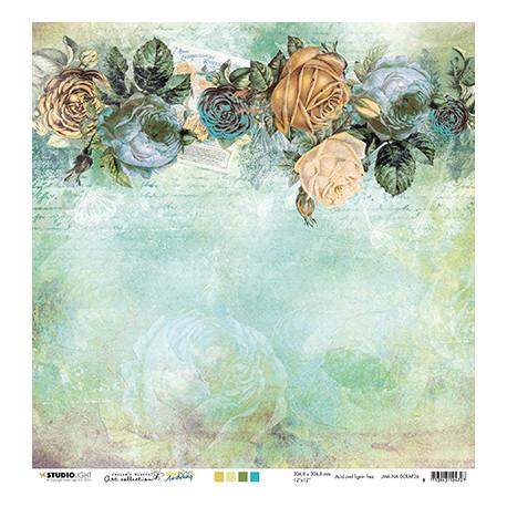 Roses & vintage pattern New Awakening nr.36 30,5x30,5cm (SL)