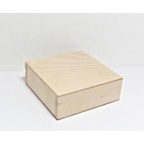 Krabička čtvercová malá 10x10x3,5